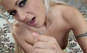 Handjob Harry Cindy Crawford & Handjob Harry Hot And Wild Blonde Holds And Licks Dick Like Lollipop