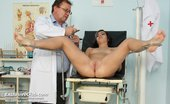 Exclusive Club Nina Nina Pussy Spreader Vag Gaping At Lousy Gynoclinic