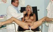 Exclusive Club Karolina Karolina Gyno Twat Medical Tool Checkup On Gynochair At Weird Clinic