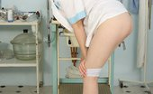 Exposed Nurses Ester Nurse Ester Pussy Fingering And Dildoing At Clinic