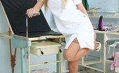 Exposed Nurses Viktorie Eager Nurse Viktorie Vagina Spread And Specula Play