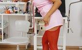 Exposed Nurses Nicky Dirty Nurse Uniform Nicky Piss-Hole Gaping With Gyno Tools