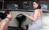 Fat Sitting 422378 Skinny 18yo Boy Licks Ass Of His BBW Mistress