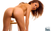 Thai Chix Shaved Jackie Lin With Golden Dildo