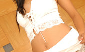 Thai Chix Thai Nicha Dropping White Thong