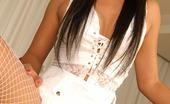 Thai Chix Sherri In White Lingerie