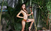 Thai Chix Riyo In The Jungle Topless