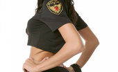 Sexy Olympics 423985 Sexy Pistol Shooting Babe Takes Off Her Hot Police Uniform