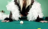 Sexy Olympics Sexy Blonde And Ball Loving Teen Girl Marissa Plays Billard