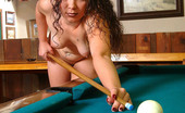 Sexy Olympics Naked Billard In Gambling Hall With Hot And Horny Girl Reena