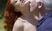 Oldje Old Sex Is The Best Teacher A Young, Redhead Girl Is Oldje'S Special Student On His Outdoor English Class. He Must Teach Her How To Speak This Language But English Is Not What The Teeny Girl Is Interested On. She Is In The Mood For Fun And Teasing With Th
