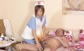 Oldje 424248 Premium Old Cock Nursing Tina Hot Is A Hot 25 Years Old Old Nurse With An Amazing Body. She Also Has An Unusual Attraction To Older Men And Today She Takes Care Of A 55 Year Oldje. She Must Clean His Old Dick And Balls But After Couple Of Minutes Young Gi