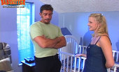 Dirty Babysitter Cute Blonde Babysitter Gets Her Holes Stretched