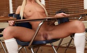 Innocent High Maia Davis Adorable Blonde Teen In Pigtails Grinds Her Shaved Pussy On A Hard Cock Afterschool