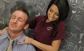 Innocent High Lexi Diamond Cum Hungry Schoolgirl Sucks And Fucks Her Teacher