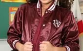 Innocent High Jesse Jorden Skinny Brunette Schoolgirl Takes A Thick Facial After School