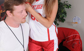 Innocent High Katie Sands Adorable Petite Teen Gets Plasted By Her Coach Cum