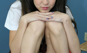 Innocent High Amai Liu Naughty Little Asian Schoolgirl Takes A Thick Sticky Load On Her Face