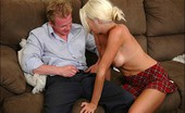 Innocent High Angelina Hart After Having A Dick Shoved In Her Pussy, This Hot Girl Ends Up With Jizz On Her Face