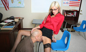 Innocent High 430249 Leah Jaye During A Meeting With The Principal, Leah Gets Spanked And Has A Cock Shoved Inside Her