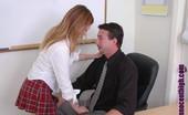 Innocent High Savannah Stern Hot Redhead Teenie Has An Encounter With Her Horny Teacher