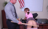 Innocent High Stephanie Cane Hot Ass Schoolgirl Sits On Desk Her Principals Desk And Shows Him Her Wet Pussy
