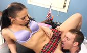 Innocent High Alexa Jordan Beaustiful Brunette Schoolgirl Sucks And Fucks For A Passing Grade