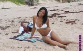 Oye Loca Nina Dark Skinned Latina Takes Her First Big White Cock