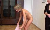 Special Exercises Blondie Gets The Taste Of Naked Gymnastics