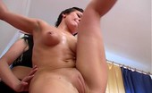Special Exercises Submissive Naked Gymnast Shows Her Glittering Body