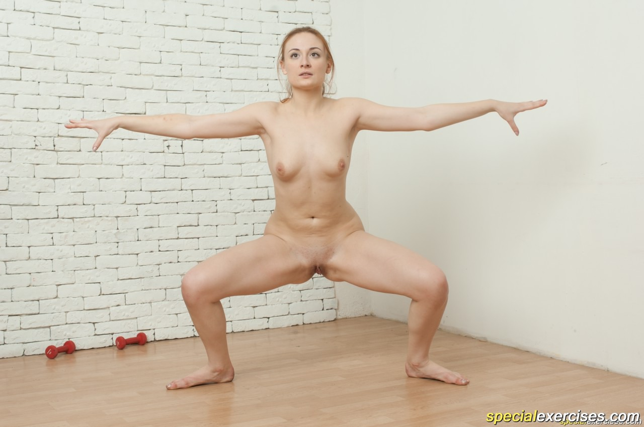 exercises nude Special