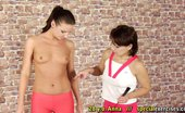 Special Exercises Lesbian Domination At The Yoga Nude Training