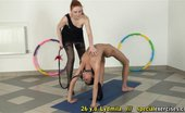 Special Exercises Fragile Yoga Bitch Of A Curvy Lesdom Trainer