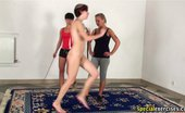 Special Exercises Masturbation And Gymnastics Domination Of Two Vicious Coachers