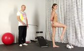 Special Exercises Nude Sports And Masturbation Obedience Of His Female Slave