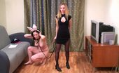 Special Exercises Gym Domina And Her Fleshy Female Sub
