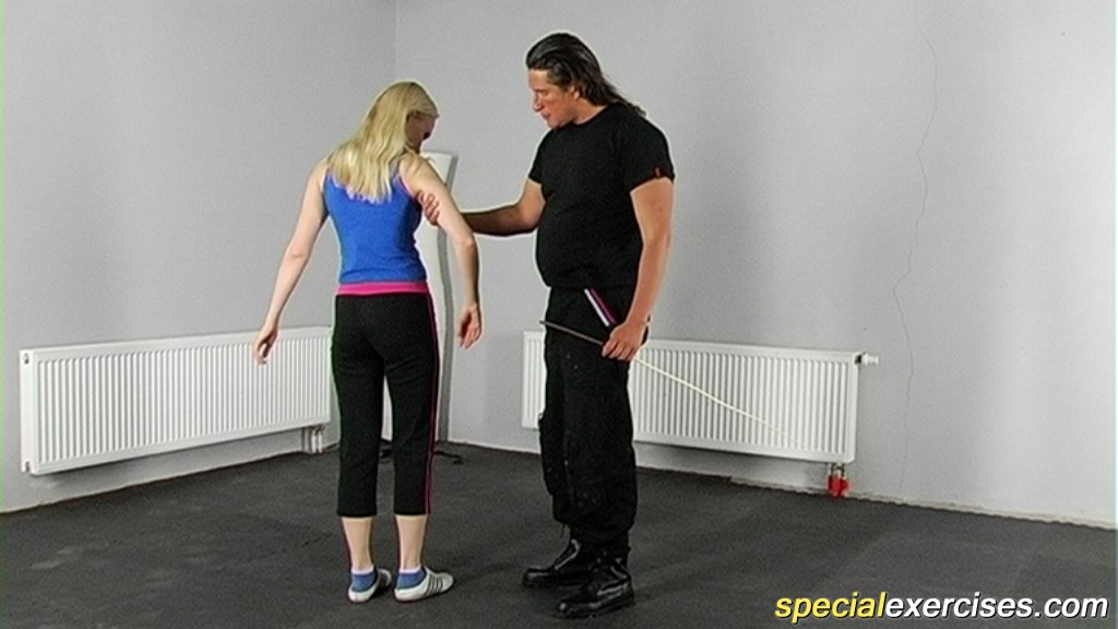 Special Exercises 432384 Bubbied Plaything Tortured By A Sports Master