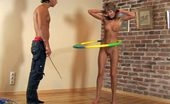 Special Exercises 432420 Sports Master Makes A Nude Gymnast Do Workouts