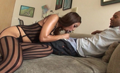 Black Dick Round Ass Angel Cummings Angel Cummings Gives Her Man Morning Sex