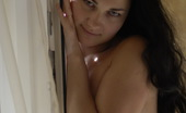 Be Hairy Sexy Brunette Getting Buck Naked
