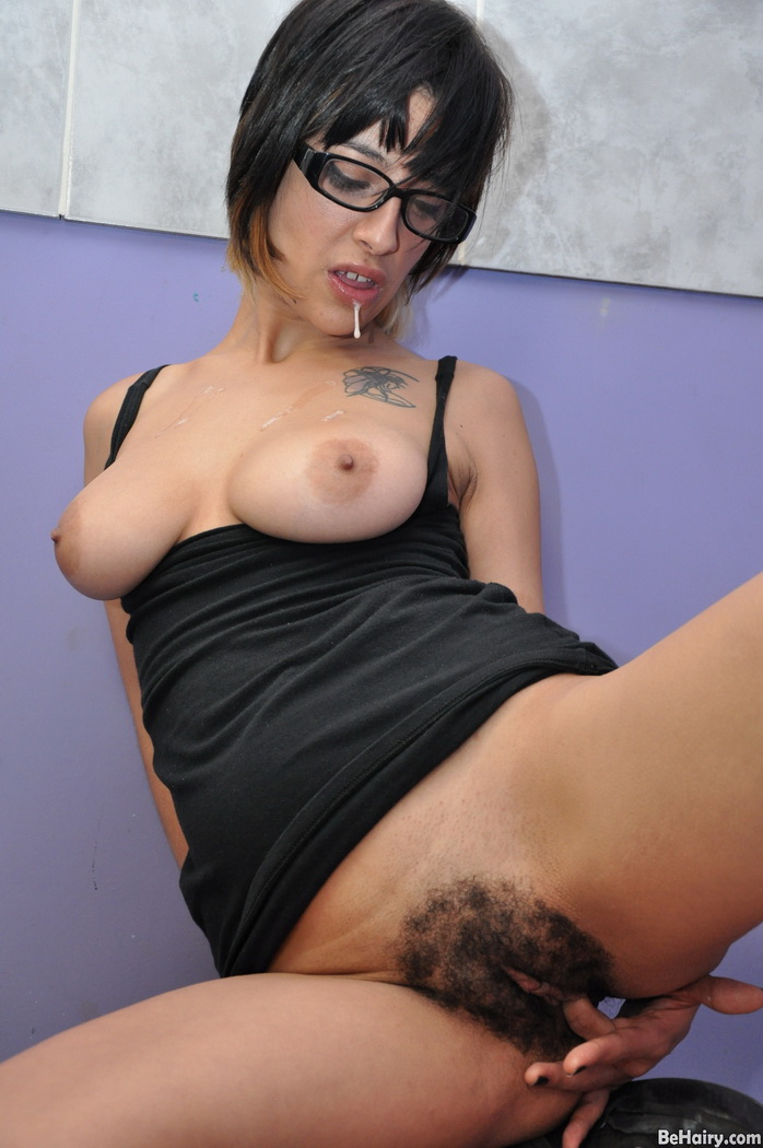 Busty Hairy Mature Anal