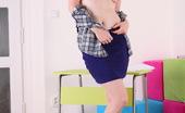 Be Hairy Stripteasing In Her Own Room