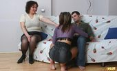 Mature Lessons 433932 Aged Fatty Having Sex With Married Couple Chubby Mature Woman Joins Horny Couple And Gets Fucked Together With Sexy Nubile Gal