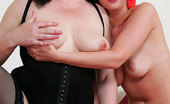 Mature Lessons 433941 Couple Taking Sex Lesson From Fat Mature Fancy Nubile Blonde And Her Horny Boyfriend Taking A Nasty Sex Lesson From Plump Mature Lady