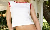 In Focus Girls 434527 Vicki Porch Swing Watch Blonde Cutie Strip And Spread Her Gorgeous Legs Wide