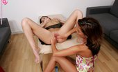 In Focus Girls 434535 Patricia Table Fister Watch Juices Flow As Tight Pussy Gets Fisted And Licked