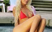 In Focus Girls Luka Bikini Butt Plug Gorgeous Blonde Plunges Sex Toys Into Both Holes Poolside
