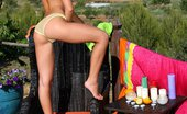 In Focus Girls 435973 Nevena Juicy Toyer Naughty Teen Pours Juice And Hot Candle Wax On Smoking Body