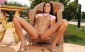 In Focus Girls Anitta Tipsy Masturbator Stunning Teen Nudes And Fingers Dripping Wet Twat On Patio