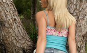 In Focus Girls Katerina Tree Love Tempting Blonde Teen Seductively Strips And Rubs By Tree